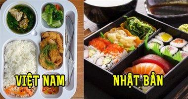 Dân văn phòng các nước trên thế giới ăn gì vào bữa trưa?