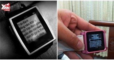 Nhân mùa tựu trường, đồng hồ giúp quay cóp rao bán tràn lan trên mạng