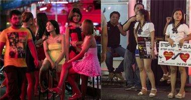Loạt ảnh về cuộc sống về đêm của phố đèn đỏ ở Thái Lan