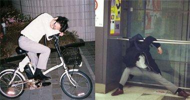 Chết cười với muôn kiểu ngủ gật của người Nhật