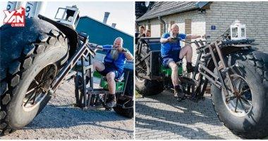 """Đây là chiếc xe đạp """"quái thú to vật vã"""" vừa """"lọt"""" vào Guinness"""