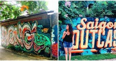 """Chụp ảnh street style, nhớ đến 3 điểm """"sống ảo chất chơi"""" giữa Sài Gòn"""