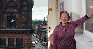 """Cụ bà 76 tuổi lau cửa kính ở tòa nhà cao tầng gây """"sốt"""" cộng đồng mạng"""