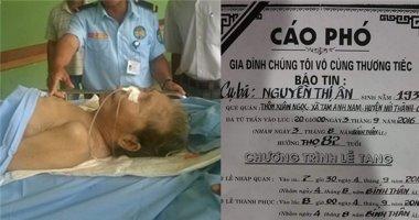 Cụ bà mù, cụt chân ở Quảng Nam đã trút hơi thở cuối cùng