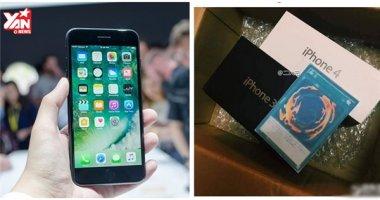 Đặt mua iPhone 7, cô gái nhận được iPhone 3+4 và lá bài bí ẩn