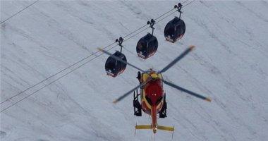 Sự cố 110 người mắc kẹt trong cáp treo trên dãy núi cao nhất châu Âu