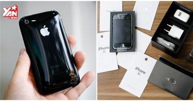"""Ngắm iPhone 3G """"cổ đại"""" còn """"zin"""" giá 50 triệu đồng tại Việt Nam"""