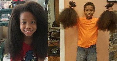Cảm phục khi biết lí do cậu bé này nuôi tóc dài trong suốt hai năm