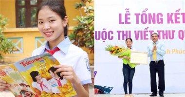Vượt hàng triệu bài dự thi, Việt Nam đoạt giải Nhất UPU Quốc tế 2016