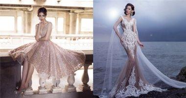 Những chiếc váy thần thoại làm mê đắm lòng người khi trời vào thu