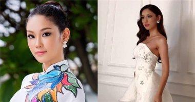 Lộ váy dạ hội của Phương Linh tại Hoa hậu Quốc tế 2016?