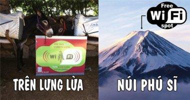 Không tin nổi những địa điểm thế này cũng có Wi-Fi bằng được