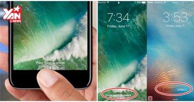 """Mẹo bật lại """"trượt để mở khóa"""" trên iOS 10"""