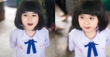 """Cận cảnh bé gái có vẻ đẹp hoàn hảo của """"hoa hậu Thái Lan tương lai"""""""