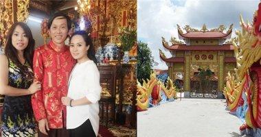 Hé lộ kiến trúc ấn tượng bên trong nhà thờ Tổ nghiệp của Hoài Linh