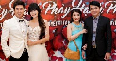 Vợ chồng Lý Hải, Cao Minh Đạt xúc động với đám cưới 60 đôi khuyết tật