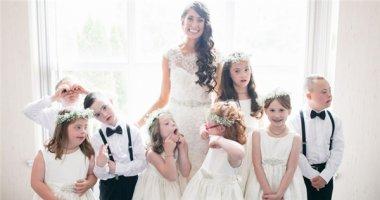 Xúc động chuyện cô giáo mời tất cả học sinh mắc chứng Down tới lễ cưới