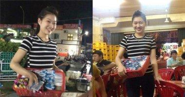 Phía sau nụ cười của cô gái bán kẹo xinh đẹp này, là không ít nước mắt