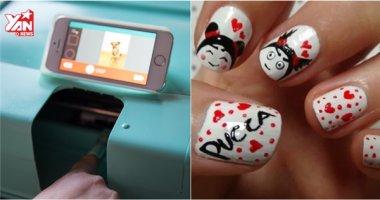 Giờ đây có thể dùng smartphone để vẽ móng tay cực nhanh, cực đẹp