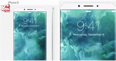 Ngắm iPhone 8 tuyệt đẹp chạy iOS 11 sẽ có gì hot ?