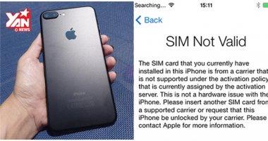 """CẨN THẬN: iPhone lock sẽ trở thành """"cục gạch"""" nếu như bạn làm điều này"""