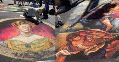 Đẹp ngỡ ngàng những tác phẩm nghệ thuật đường phố được vẽ bằng phấn