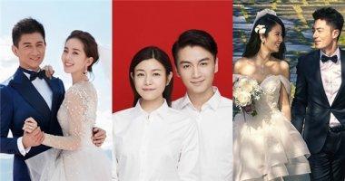 Điểm lại hôn lễ đình đám của các cặp sao Hoa ngữ trong năm 2016