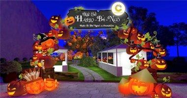 Đón Halloween tại xứ sở bí ngô Crescent Mall