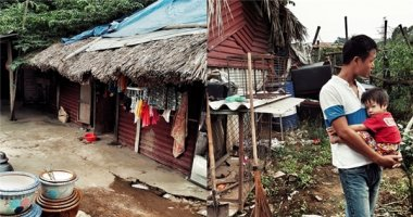 Giật mình cuộc sống bấp bênh của người nhập cư ven sông Hồng