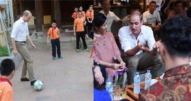 Hình ảnh thân thiện của Hoàng tử William trong chuyến thăm Hà Nội