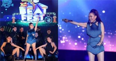 Khán giả sởn gai ốc với khả năng hát live của Thu Minh