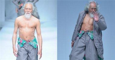 Ngưỡng mộ cụ ông 80 tuổi lần đầu thử sức với vai trò người mẫu