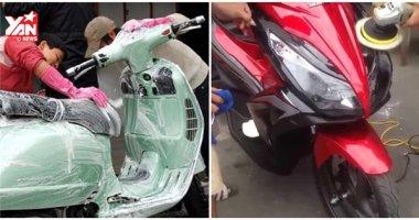 Những cách giữ cho lớp sơn xe luôn như mới