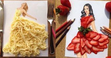 """""""Mê mẩn"""" ngắm nhìn những chiếc váy tuyệt đẹp được làm từ đồ ăn"""