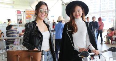 Midu háo hức cùng DJ Trang Moon vi vu sang Hàn dự lễ trao giải quốc tế
