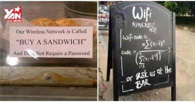 """""""Làm mệt"""" với những mật khẩu Wifi rắc rối và rườm rà nhất hành tinh"""