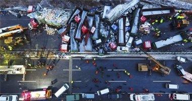 Trung Quốc: Tai nạn ô tô liên hoàn khiến 17 người thiệt mạng