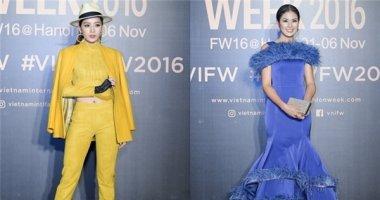 """Chi Pu cá tính, tự tin """"đọ sắc"""" cùng dàn Hoa hậu Việt tại VIFW 2016"""