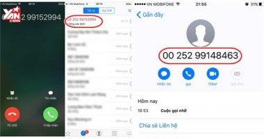 CẨN THẬN: Bị mất tiền oan từ cuộc gọi nước ngoài