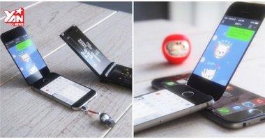 Apple đang bí mật thử nghiệm iPhone 8 nắp gập
