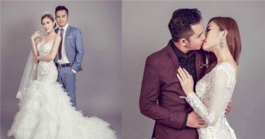Em nuôi Hoài Linh khoe ảnh cưới lãng mạn với bà xã kém 15 tuổi