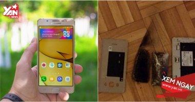 Vận đen đeo bám Samsung, lần này là Galaxy J5 phát nổ