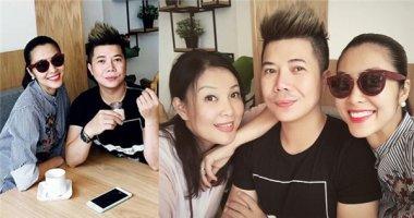 """Tăng Thanh Hà """"vác"""" bụng bầu đến chia vui cùng cựu người mẫu Minh Anh"""