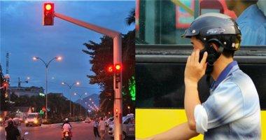 Sử dụng điện thoại khi dừng đèn đỏ sẽ bị phạt đến 800.000 đồng