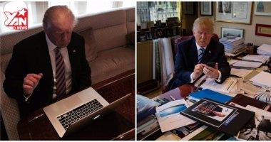 """Tổng thống Mỹ Donald Trump """"mù"""" công nghệ, không biết dùng máy tính"""