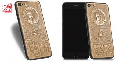 Đây là chiếc iPhone 7 Donald Trump mạ vàng giá gần 70 triệu đồng