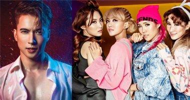 S.T cùng học trò Đông Nhi - Lip B chính thức tham gia The Remix 2017