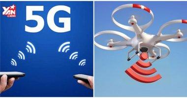 Google cho máy bay không người lái phát mạng 5G