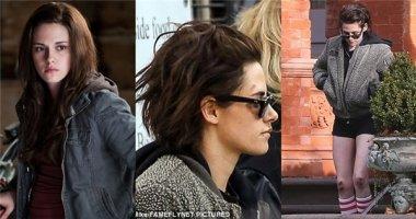 Không thể nhận ra đây là sao nữ Twilight một thời Kristen Stewart