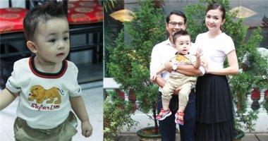 Cận cảnh vẻ đáng yêu của con trai Huỳnh Đông - Ái Châu